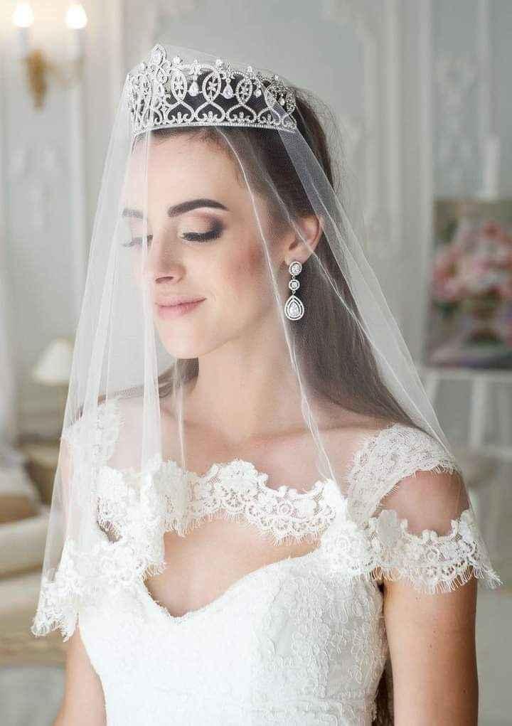 Velo,tiara o corona 4
