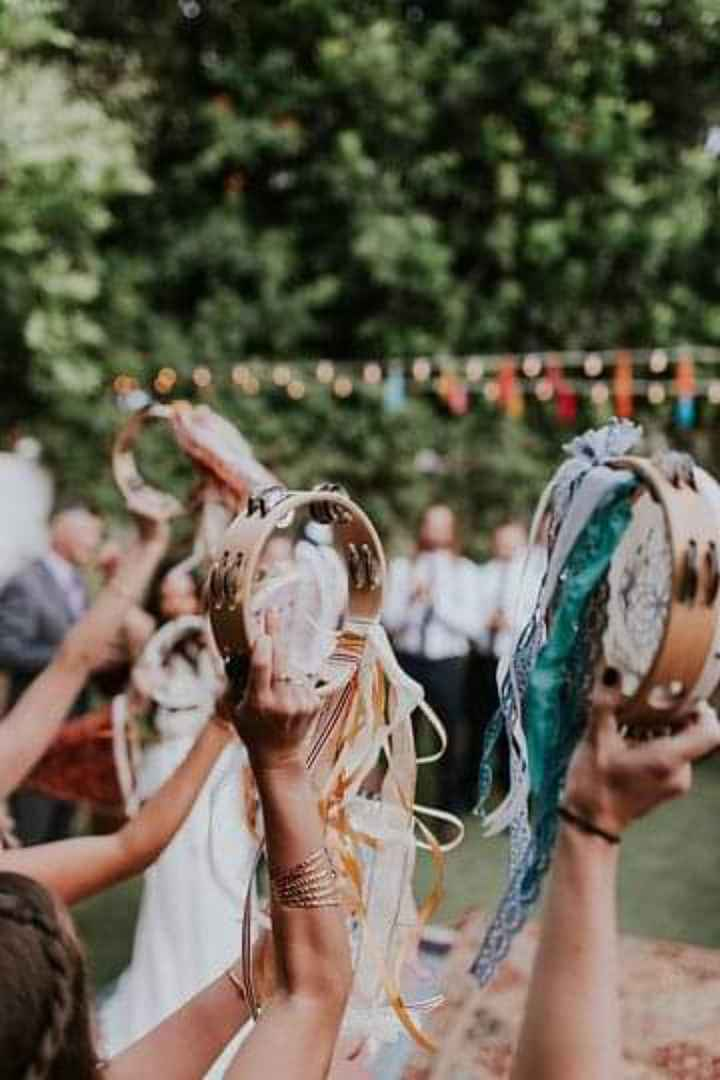 Panderos para tu boda - 4