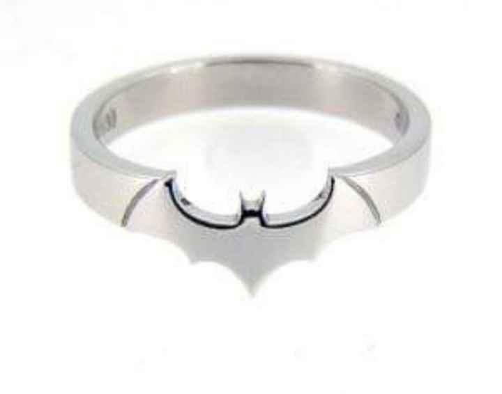 Temática Batman: hermosos anillos - 8