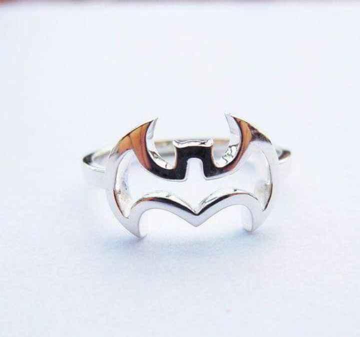 Temática Batman: hermosos anillos - 9