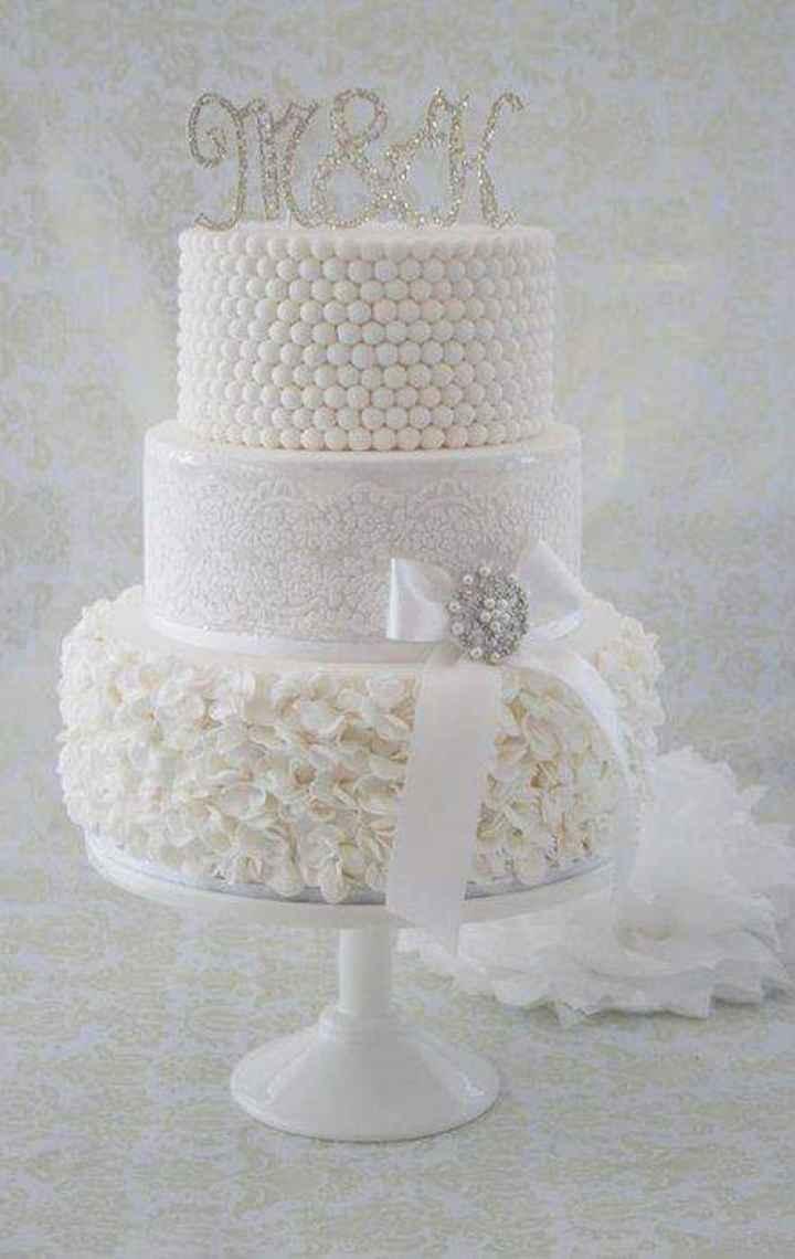 Glitter plateado en tu cake topper - 3