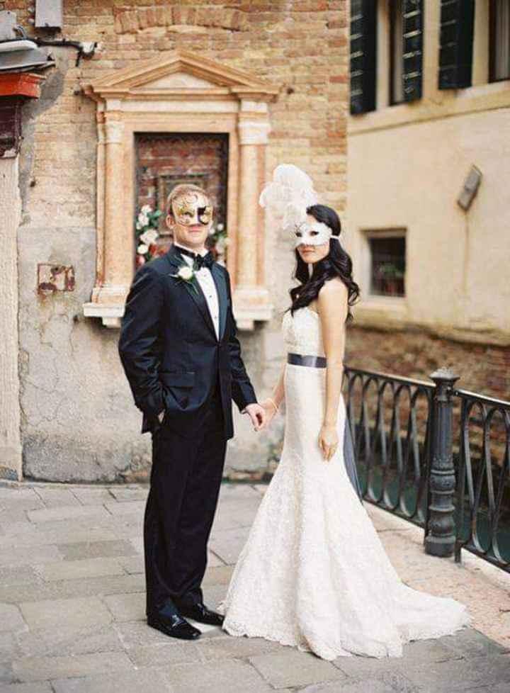 Masquerade wedding - 14