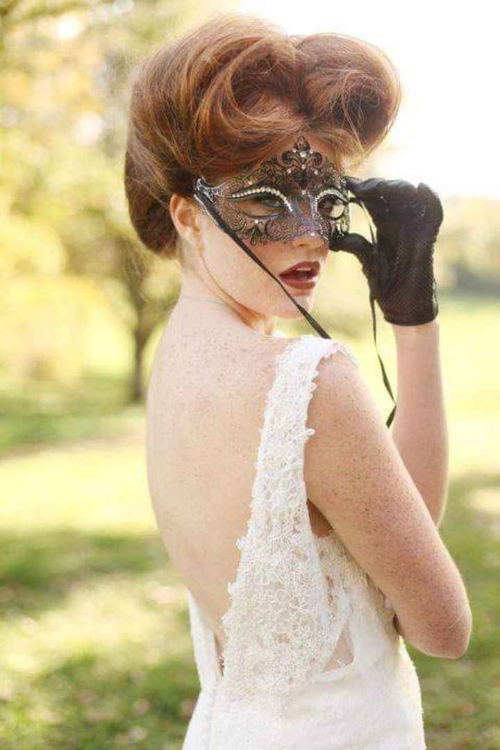 Masquerade wedding - 15