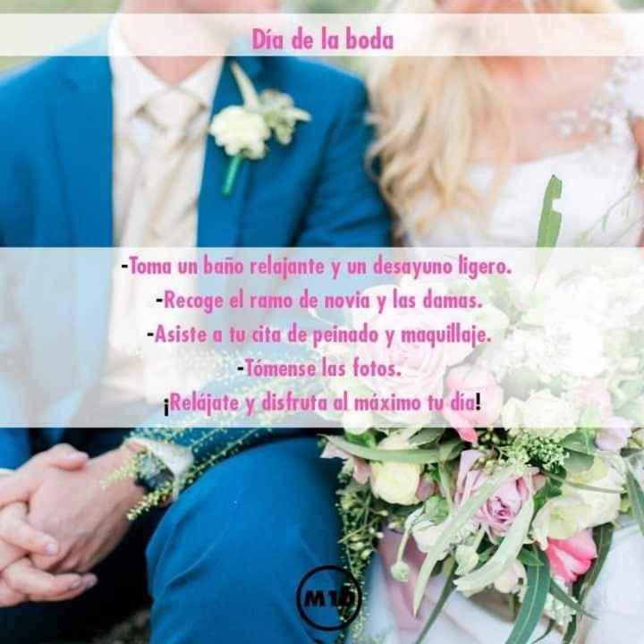 Organízate para tu boda - 8