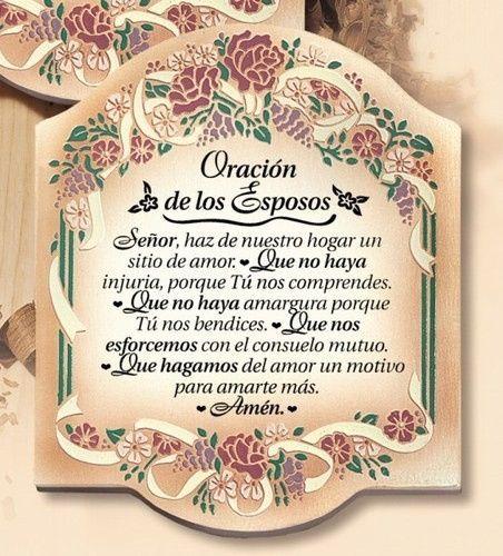Bendiciones Del Matrimonio Catolico : Oración de los esposos foro viviendo juntos bodas mx