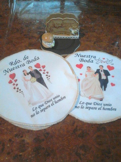 Un avance m s aqu est n los tortilleros salero y - Manualidades para una boda ...