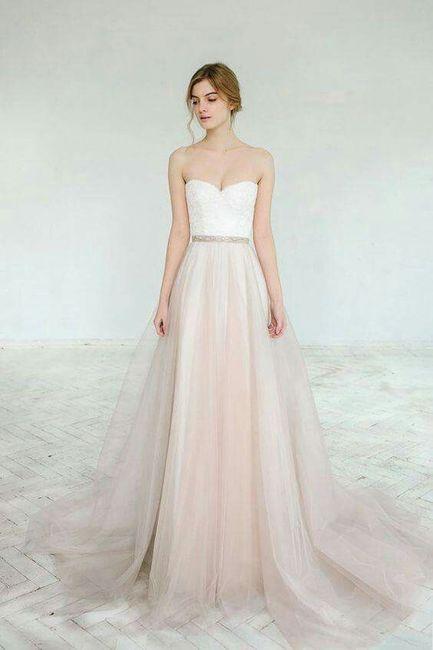 Vestidos de novias de dos piezas