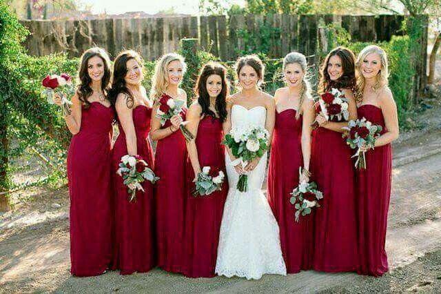 Color de vestido para las damas de honor