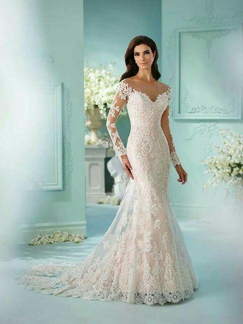 vestidos para novia invierno - foro moda nupcial - bodas.mx