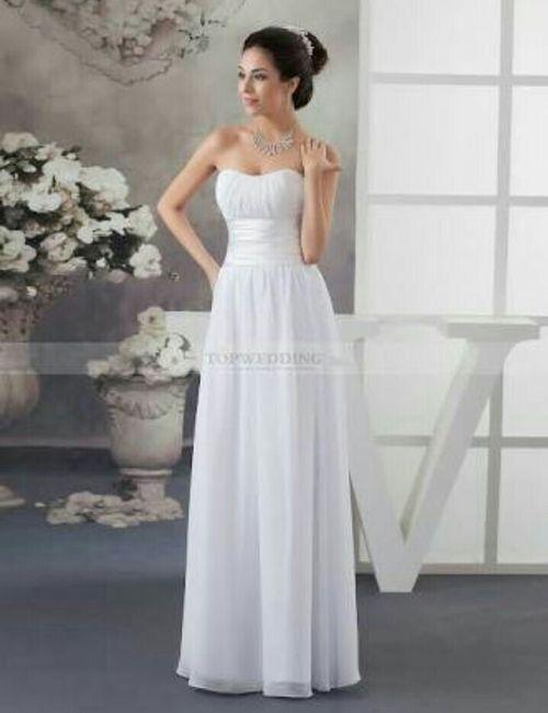 Vestidos de novia para el civil