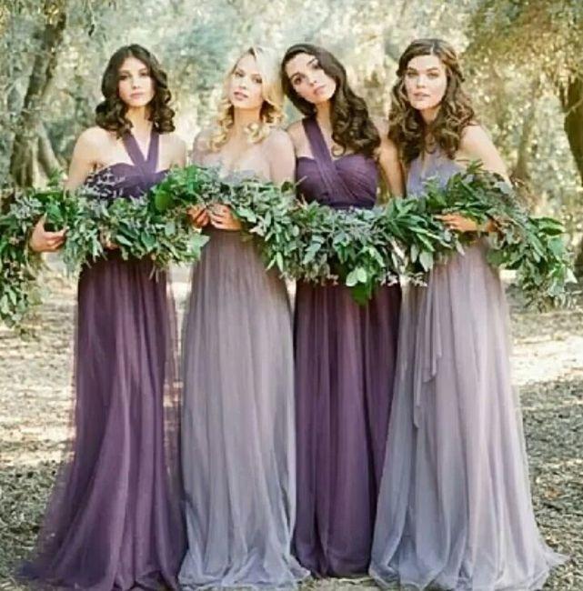 Vestidos de damas para boda en invierno