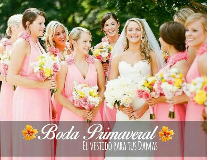 9caa5121fc8bc Colores en vestidos para damas de honor - Foro Moda Nupcial - bodas ...
