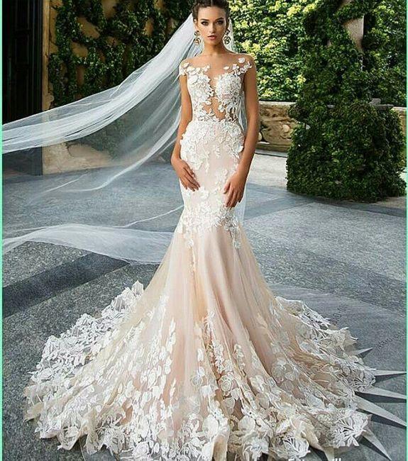 Vestidos de novia en corte sirena