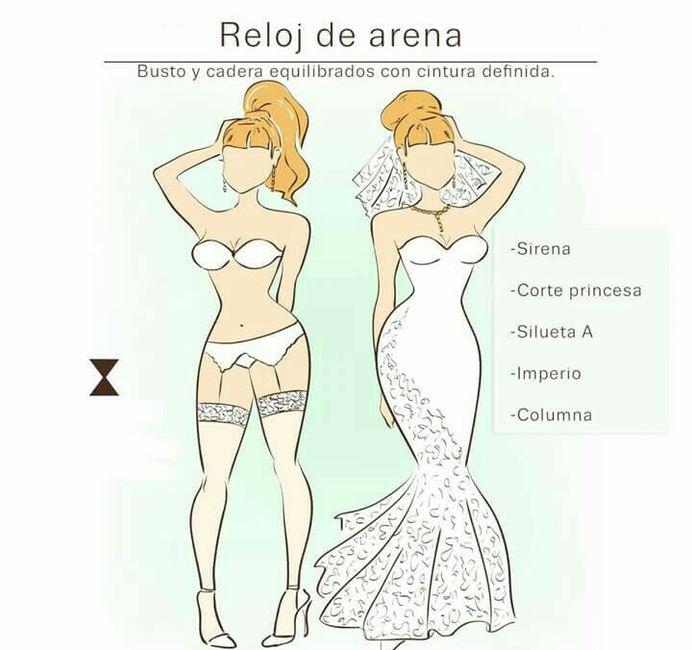 Vestidos de novia de acuerdo a tu cuerpo
