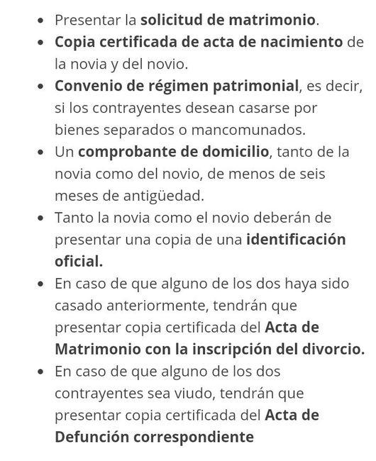 Requisitos para una boda civil foro antes de la boda - Requisitos para casarse ...