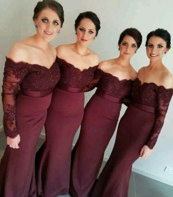 de56581cb Vestidos para damas de honor