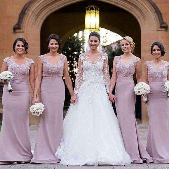 Vestidos de damas de honor para