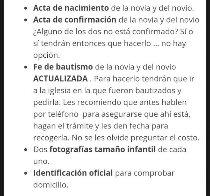 Matrimonio Iglesia Catolica Requisitos : Requisitos para una boda religiosa católica foro