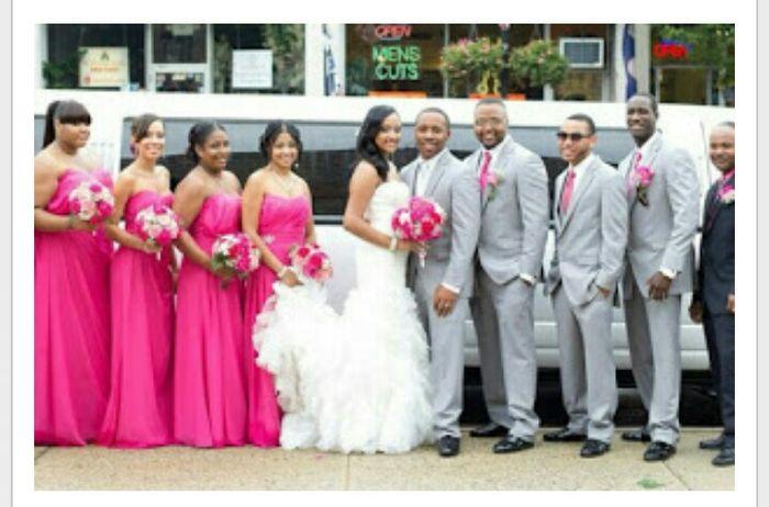 boda en fucsia, blanco y negro - foro organizar una boda - bodas.mx