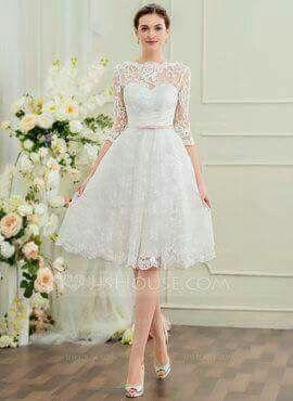 Fotos de vestidos de boda civil