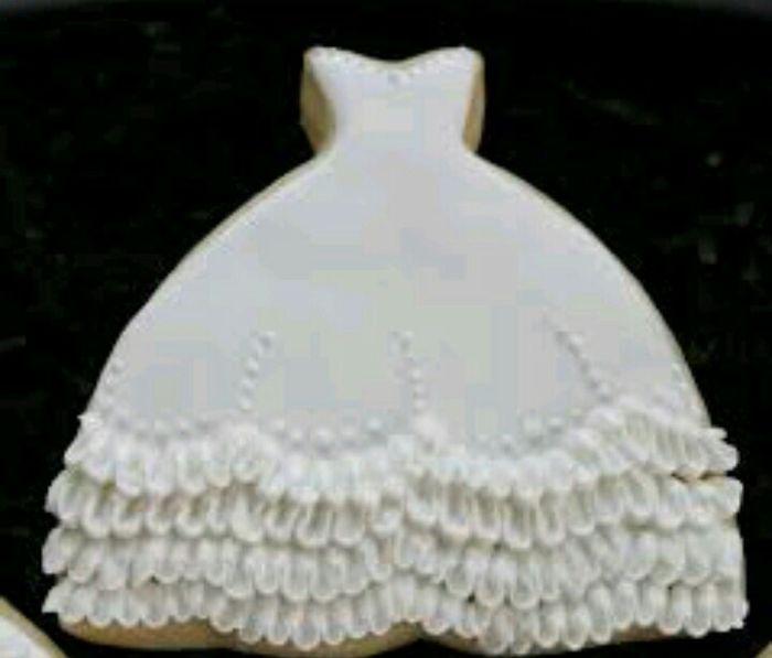 Galletas Decoradas Vestido De Novia