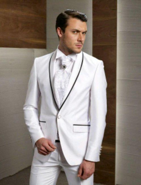 1a44b7dd6 Trajes de novio en color blanco - Foro Moda Nupcial - bodas.com.mx