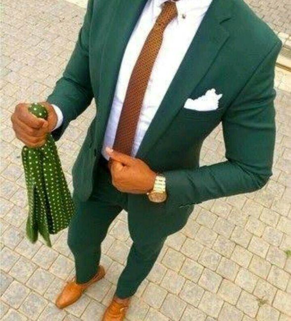 Trajes de novio en color verde - Foro Moda Nupcial - bodas.com.mx 6a7e0e4a0756