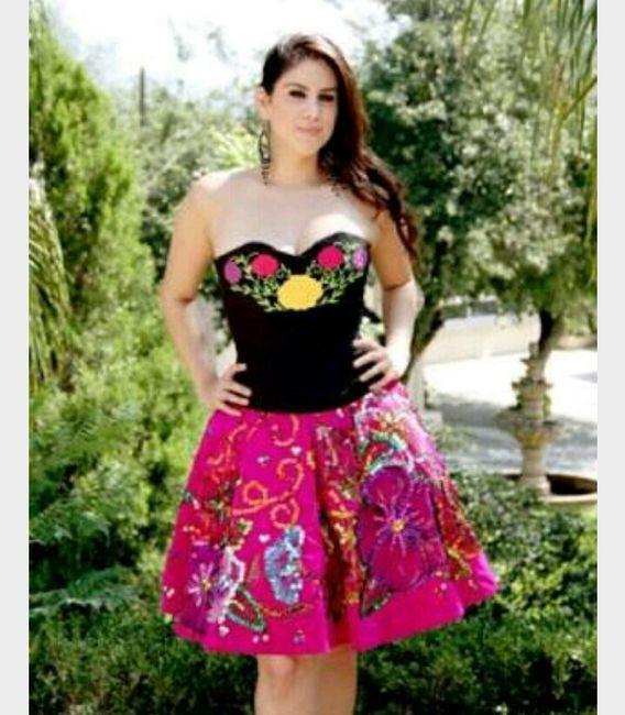 Vestidos Muy Mexicanos Para Damitas Y Damas De Honor Foro