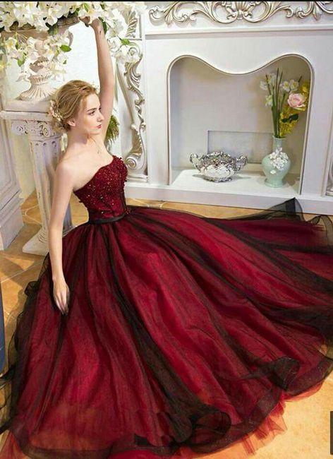 Vestidos De Novia Rojo Y Dorado Foro Moda Nupcial Bodas