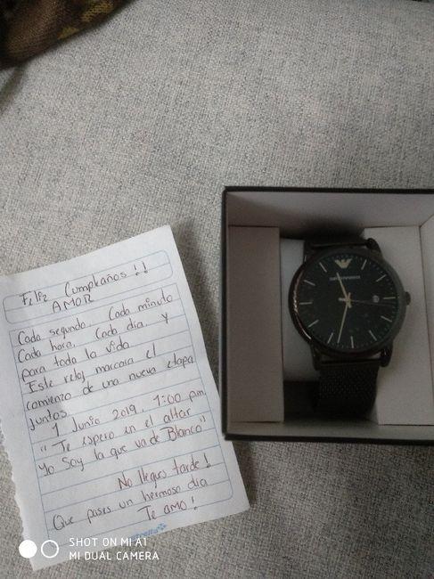 e3c684eacbd4 Entregue reloj compromiso !!! - Foro Antes de la boda - bodas.com.mx