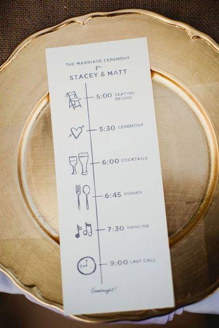 itinerario de boda  u00bfcomo lo hago