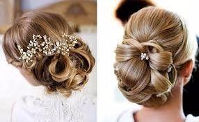 Peinados recogidos para una boda