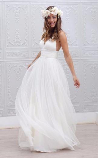 vestidos de novia para playa - foro moda nupcial - bodas.mx