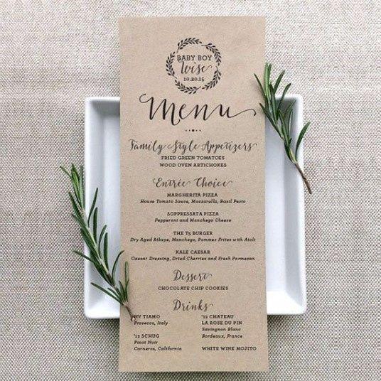 Men 250 Impreso Para La Cena Foro Banquetes Bodas Com Mx