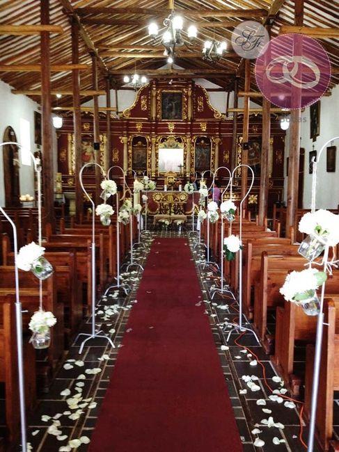 Decoraci n para iglesia foro organizar una boda - Foro decoracion ...