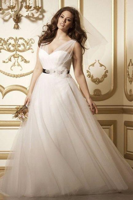 638ce34a5 4 Vestidos elegantes para novias curvy - Foro Moda Nupcial - bodas ...