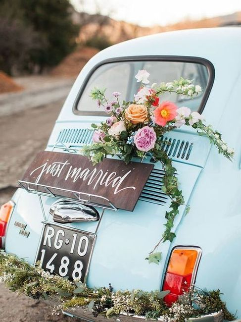 panorama of life: Just married  Vintage Just Married