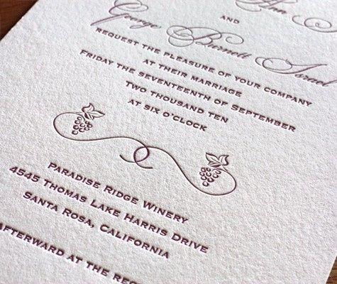 Elige el tipo de letra para tu invitacin de boda Foro Organizar