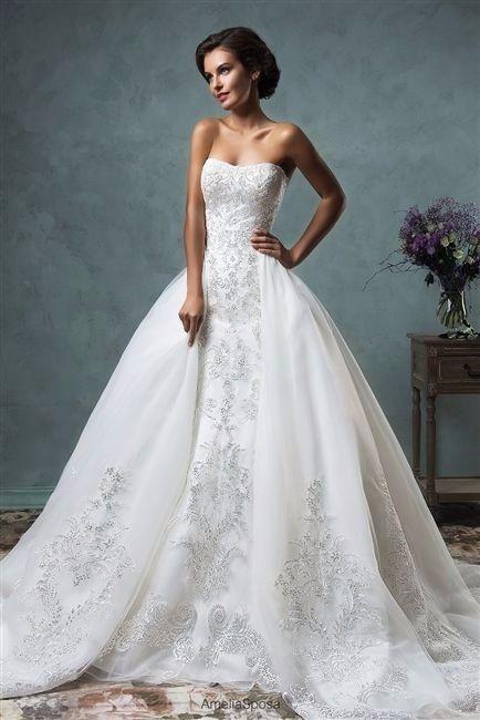 vestidos de novia desmontables!