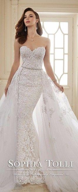 8d8051aaa ¡Vestidos de novia desmontables! 6