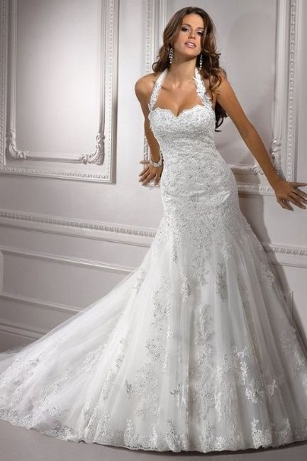 vestidos de novia con cuello tipo halter - foro moda nupcial - bodas