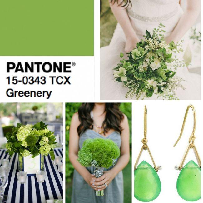 Greenery color tendencia para bodas 2017 , Foro Organizar una boda , bodas.com.mx