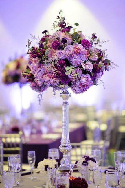 Centros de mesa altos y elegantes foro organizar una - Centros de mesa elegantes ...