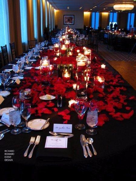 decoración de boda en negro, rojo y blanco! - foro organizar una