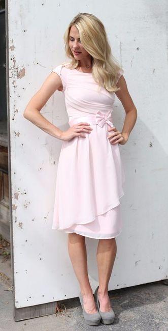 7ed9223eea8c2 Vestidos en Pale dogwood para la boda civil - Foro Moda Nupcial ...