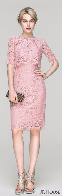 Vestidos elegantes rosas para la boda civil - Foro Moda Nupcial ...