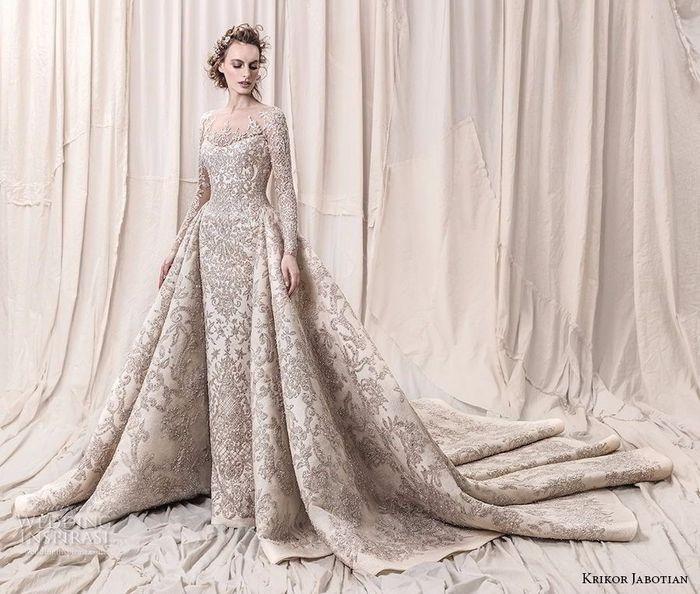 Vestidos de novia muy extravagantes