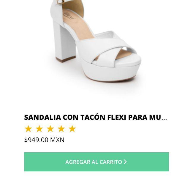 ¡Encontré los zapatos ideales! 1