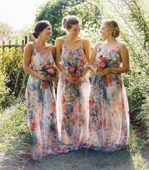 c71e5f65d Damas floreadas - Foro Moda Nupcial - bodas.com.mx
