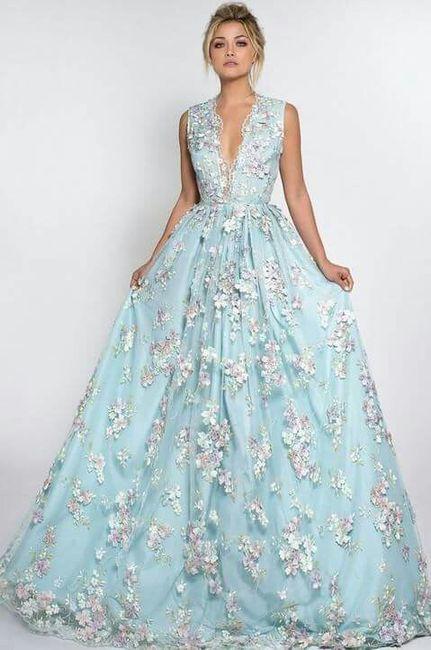 d429f032c Vestidos de novia floreados - Foro Moda Nupcial - bodas.com.mx